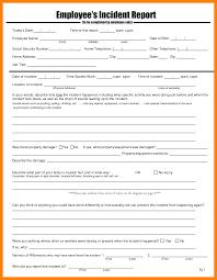 4th grade book report sample 8 employee incident report sample day care receipts 8 employee incident report sample