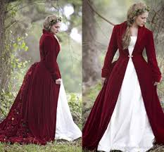 Pink Wedding Dresses With Sleeves Discount 2017 Winter Christmas Ball Gown Wedding Dresses Cloaks