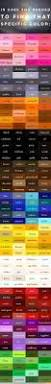best 25 colors with names ideas on pinterest color shades