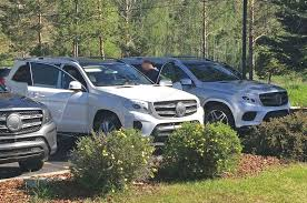mercedes size suv mercedes gls 2016 spied meet the newly rebranded gl suv by car