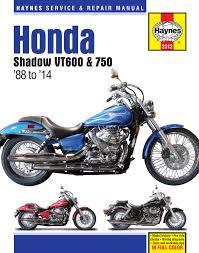 honda vt600 u0026 vt750 shadow 88 14 haynes repair manual haynes