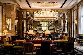 deco de restaurant starwood hotels u0026 resorts reopens an art deco icon prince de