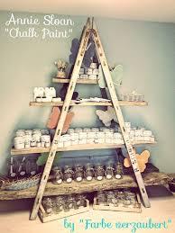 vintage shop inspiration ladder and boards as display