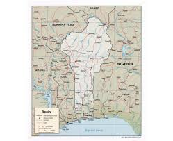 2007 World Map by Maps Of Benin Detailed Map Of Benin In English Tourist Map