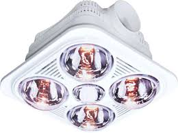 Bathroom Heat Lamp Fixture Very Infrared Bathroom Heat Lamp Bathroom Heat Lamp Fixture