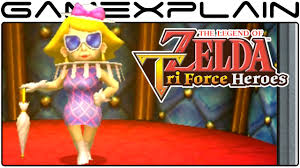 zelda tri force heroes the lady u0027s pets boss fight 60fps direct