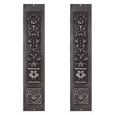 Cast Iron Home Decor Cast Iron Fireplace Panels Home Design Furniture Decorating Photo