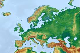 Geographical Map Of Europe by Public Domain Maps U2013 Mapswire Com