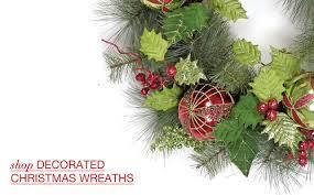 artificial christmas wreaths artificial christmas wreaths garlands santa s quarters