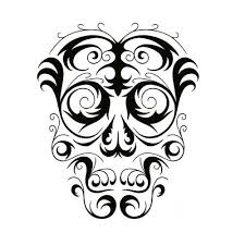 cool tribal skull tattoo design by jsharts on deviantart