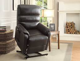 homelegance kellen power lift chair dark brown all bonded