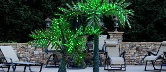 outdoor tree lights for summer decorative palm trees with lights developerpanda