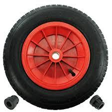 chambre a air brouette first4spares roue complète 3 50 8 35cm chambre à air pneu