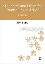 Counselling For Toads Standards And Ethics For Counselling In Tim Bond