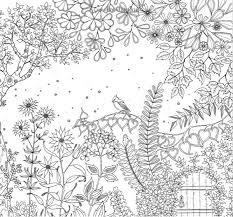 sale secret garden inky treasure hunt coloring book