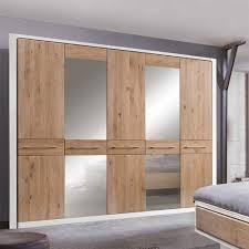 Schlafzimmer Holz Eiche Schlafzimmer Einrichtung Vronjic In Weiß Mit Eiche Wohnen De