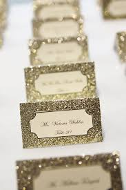themed place cards 17 glitter wedding ideas for every glam place cards cards