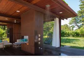 pool house with bathroom exterior tripping on asphalt