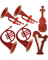 sale polyresin w musical instrument ornament