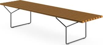 Outdoor Sofa Table by Modern Benches 2modern