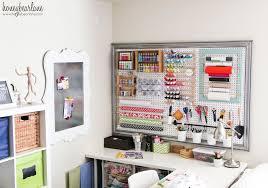 Organize A Craft Room - craft room reveal honeybear lane