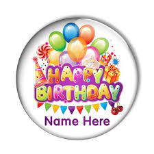 personalised birthday balloons bish bosh badges personalised custom badges fridge magnets