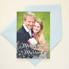 married christmas cards photo cards banter and charm