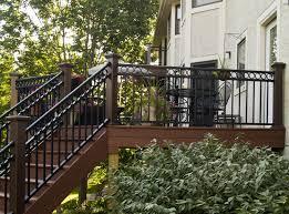 iron deck railing design ideas u2014 railing stairs and kitchen design