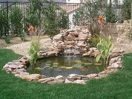 Homemade Backyard Waterfalls by Pond Builders Pond Construction Pond Ideas Backyard Ponds