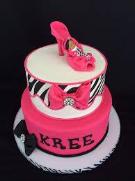 baby shower cakes pink zebra cca9b24b7cb4d6ab77a75f7c095c8bda