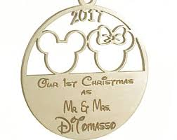 disney ornament etsy