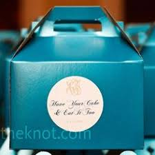 5 x 4 custom printed cake slice favor boxes set of 50 favors