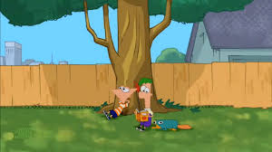 image pf under a tree png phineas and ferb wiki fandom