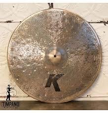 zildjian k light flat ride 20 ride timpano percussion