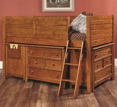 Haynes Furniture Bedroom Dressers Lea Industries Willow Run Twin Low Loft Bed With 2 Dressers Ahfa