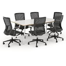 Boardroom Tables Nz Team Meeting Table Aluminium Frame 6 8 Seater