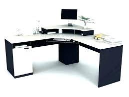 Bush Desk With Hutch L Shaped White Computer Desk White L Shaped Computer Desk With