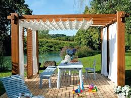 Pergola With Curtains Outdoor Curtains For Pergola Curtains For Pergola Budget Friendly