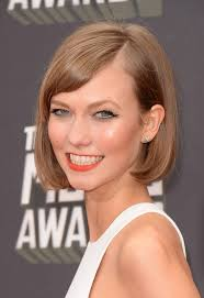 karlie kloss hair color sweet short haircut blonde bob hairstyle for short hair from