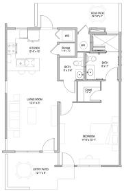 patio homes floor plan options wesley palms senior housing san