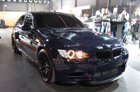 Bmw M3 Blacked Out - bmw to debut stripped out m3 at m festival