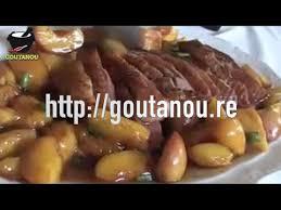 cuisine antou magret de canard à la pêche péi par christian antou goutanou
