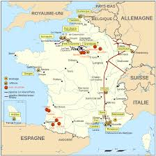 Bordeaux France Map by File Oil Wells And Refineries France Map Fr Svg Wikimedia Commons