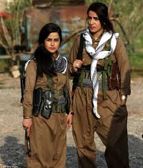 lucy and anna decinque before konnie moments blog women at war fighters of the peshmerga