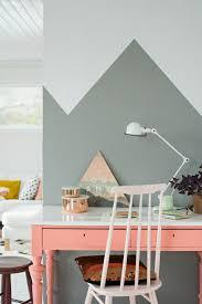 tapisserie pour bureau le papier peint géométrique en 50 photos avec idéеs tapisserie