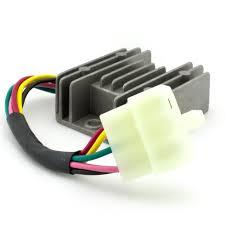 5 wire 2 phase motorcycle regulator rectifier 12v dc bridge