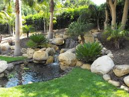 Santa Barbara Home Decor Exteriors Backyard Fish Pond Ideas Inspired Home Designs With