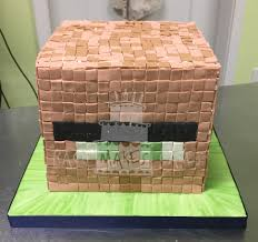 Minecraft Villager Halloween Costume Minecraft Villager Cake Birthday Cakes Cake