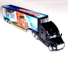 kenworth truck centre kenworth t700 semi truck with container trailer 1 68 scale toy for