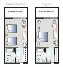 Floor Plan For Hotel Deluxe Hotel Rooms Orlando Golf Resort Mission Inn